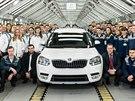 Škodovka zahájila výrobu kompletně přepracovaného modelu Škoda Yeti v ruském...