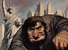 Autor plakátu Žida v New Yorku z roku 139 je neznámý.