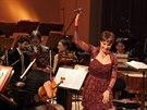 Z koncertu Raffaelly Milanesi v Rudolfinu (18. �nora 2014)