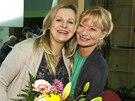 Michaela Badinková a Vilma Cibulková
