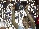 S TROFEJÍ. Tomáš Berdych ovládl tenisový turnaj v Rotterdamu.