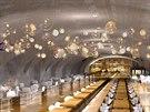 Stanice metra by se také mohla proměnit v příjemnou restauraci.