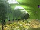 V kolejišti opuštěné stanice metra by mohly růst stromy. Podzemní zahrada by...