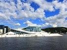 Odnikud není přestavba Osla vidět zřetelněji než z vrcholu budovy nové norské...