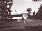 Vila Tugendhat, pohled ze zahrady