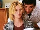 Meg Ryanová a Hugh Jackman ve filmu Kate a Leopold (2001)