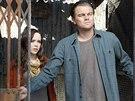 Ellen Page a Leonardo DiCaprio ve filmu Počátek (2010)