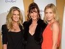 Rachel Hunterová, Carol Altová a Daniela Peštová na večírku Sports Illustrated...