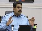 Venezuelský prezident Nicolas Maduro (13. 2. 2014)