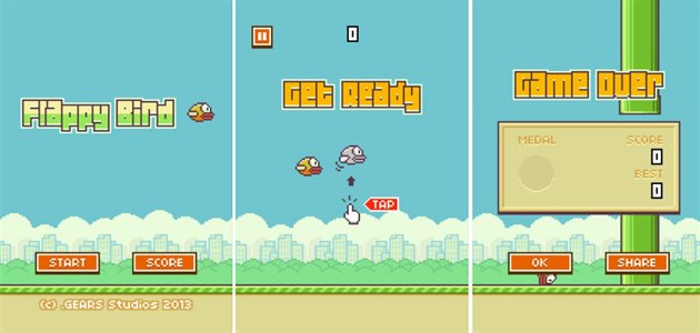 Hra Flappy Bird
