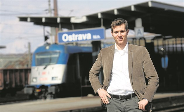 Leo� Novotný, spolumajitel �elezni�ního dopravce Leo Express.