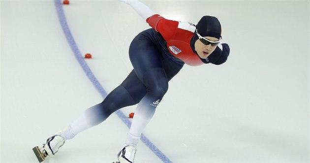 Karolína Erbanová v olympijském závod� na 1500 metr�.