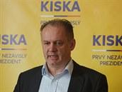 Slovenský kandidát na prezidenta Andrej Kiska