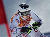 �eský ly�a� Ond�ej Bank ve druhém kole ob�ího slalomu nabral ztrátu a propadl...