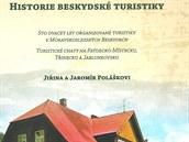 Obálka výpravné knihy Historie beskydské turistiky od Jiřiny a Jaromíra...
