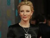Cate Blanchettová na cenách Britské filmové akademie.