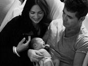 Simon Cowell s partnerkou a jejich synem