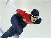 Karolína Erbanová v olympijském závodě na 1500 metrů.