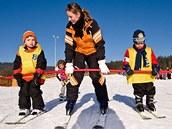 Ski areál Lipno - Lyžařská škola pro děti