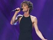 Vanessa Paradis na udílení francouzských hudebních cen (14. února 2014)