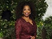 Oprah Winfreyov� na afterparty po ud�len� cen BAFTA (16. �nora 2014)