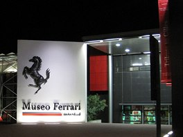Vstupní trakt Muzea Ferrari vMaranellu