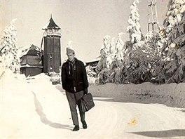 A to už je snímek Klínovce z 50. let minulého století.