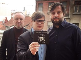 Kafka Band (zleva Jaromír 99, Jaroslav Rudiš, Dušan Neuwerth)