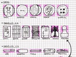 Scan z design dokumentu ke hře Zachraň šneka