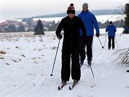Hokejisté Karlových Varů trénují na běžkách