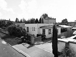 Stávající stav před demolicí starého domku