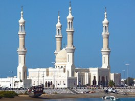 Největší a nejhezčí mešita ve městě Ras Al Khaimah je Mešita šejka Zayeda.