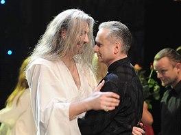 Premiéra muzikálu Dracula: Daniel Hůlka a Richard Hes