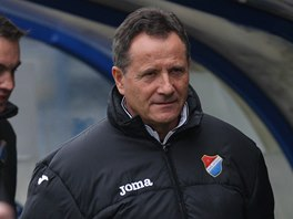 František Komňacký, trenér fotbalistů Baníku Ostrava.