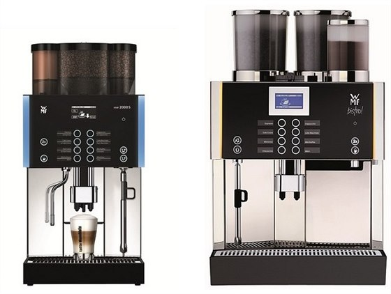 zleva: WMF 2000 a WMF Bistro