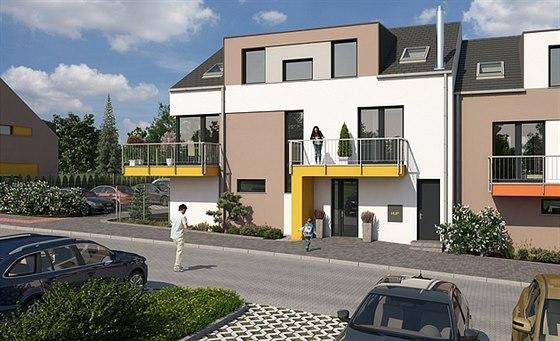 Spole�nost Staving Olomouc p�edstavila nov� developersk� projekt - Vestec St�ed