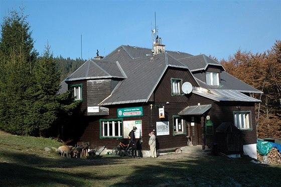 Horská chata v Těšínských Beskydech