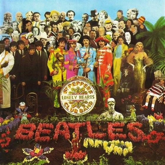 obal alba Beatles Sgt. Pepper´s Lonely Hearts Club Band