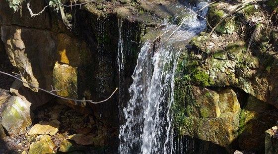 Vodopád v Žebrácké rokli