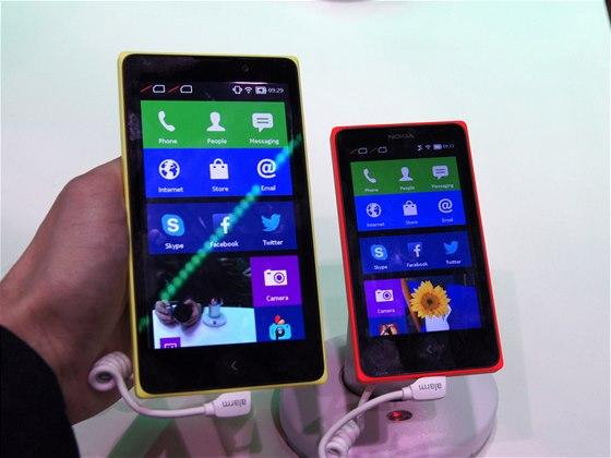 Nokia X a XL na veletrhu MWC v Barceloně