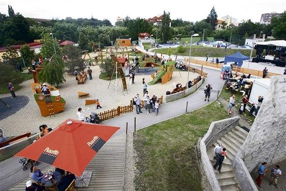 """""""Areál patří k nejlepším v celé Praze, protože nabízí ideální vyžití pro..."""