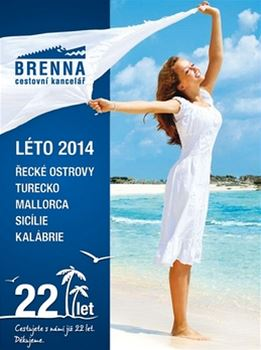 Vyu�ijte nab�dku v�asn�ho n�kupu letn� dovolen� u cestovn� kancel��e Brenna