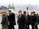 Pochod na Pražský hrad u příležitosti 66. výročí komunistického převratu v...