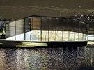 Petronela Čápská by svůj návrh umístila na Smíchov ke břehu Vltavy. Tam, kde...