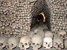 Výzdobu gotického chrámu v Sedlci u Kutné Hory tvoří 40 tisíc lidských kostí