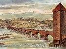Juditin most. První kamenný most v Praze nechal vybudovat král Vladislav II....