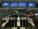 Stávka na letišti ve Frankfurtu.