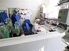 Sestra Norberta a prim�� anesteziologicko-resuscitan�n�ho odd�len� (ARO) Gustav...
