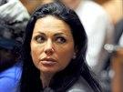Kateřina Krejčířová při soudním jednání o propuštění na kauci Radovana Krejčíře