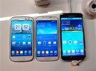 Samsung Galaxy S5 živě z Barcelony